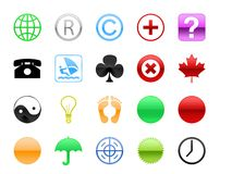 Símbolos Imagen de archivo