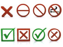 Símbolos Imagens de Stock Royalty Free