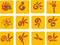 Símbolos Foto de archivo libre de regalías