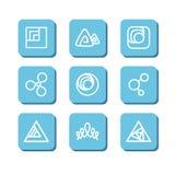 Símbolos abstractos Imagen de archivo libre de regalías