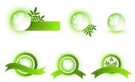 Símbolos abstratos do vetor Fotografia de Stock Royalty Free