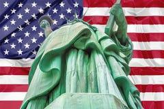 Símbolos americanos da liberdade Imagens de Stock