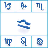 Símbolos astrológicos Fotos de Stock