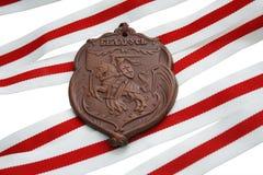 Símbolos bielorrussos Fotografia de Stock Royalty Free
