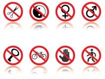 Símbolos - bromas. stock de ilustración