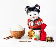 Símbolos chineses do ano novo Imagens de Stock Royalty Free