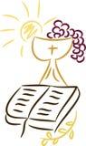 Símbolos cristãos Fotografia de Stock Royalty Free