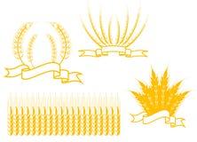 Símbolos da agricultura Imagens de Stock