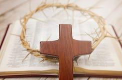 Símbolos da cristandade fotografia de stock