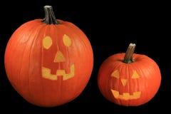 Símbolos da decoração do feriado de Dia das Bruxas Imagem de Stock Royalty Free