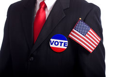 Símbolos da eleição Imagem de Stock Royalty Free