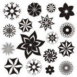 Símbolos da flor Fotografia de Stock Royalty Free
