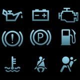 Símbolos da relação do carro Imagens de Stock Royalty Free