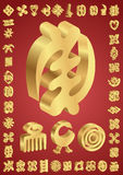 Símbolos de Adinkra del africano