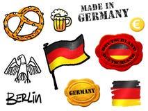 Símbolos de Alemanha Fotografia de Stock Royalty Free