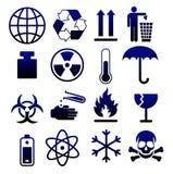 Símbolos de empacotamento 05 Imagens de Stock Royalty Free