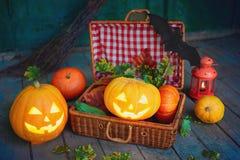 símbolos de Halloween Imagem de Stock Royalty Free