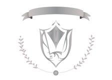 Símbolos de la armería ilustración del vector