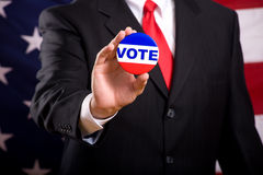 Símbolos de la elección Imagen de archivo libre de regalías
