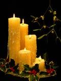 Símbolos de la Navidad Fotos de archivo