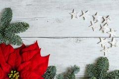 Símbolos de la Navidad Fotografía de archivo
