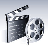 Símbolos de la película. Fotos de archivo