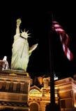 Símbolos de los E.E.U.U. en Vegas imagen de archivo