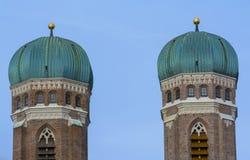 Símbolos de Munich Imagenes de archivo