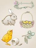 Símbolos de Pascua Imagen de archivo