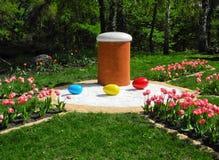 Símbolos de Pascua Fotografía de archivo libre de regalías