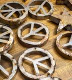 Símbolos de paz Imagem de Stock Royalty Free
