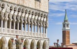 Símbolos de Veneza foto de stock