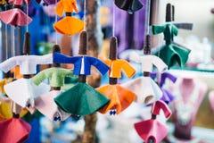 Símbolos decorativos da dança dos muçulmanos Imagens de Stock