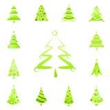 Símbolos del árbol stock de ilustración