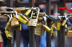 Símbolos del amor en Italia imagen de archivo libre de regalías