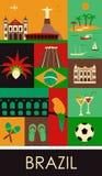 Símbolos del Brasil Imagenes de archivo