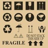 Símbolos del conjunto Foto de archivo libre de regalías