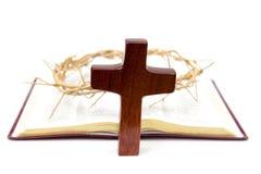 Símbolos del cristianismo fotografía de archivo