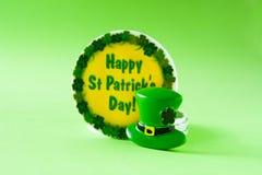Símbolos del día del St Patrick foto de archivo