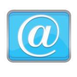 Símbolos del email ilustración del vector
