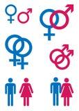 Símbolos del género Fotografía de archivo