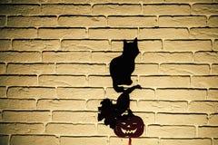 Símbolos del tótem de Halloween imagen de archivo libre de regalías