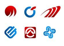 Símbolos del vector Imagen de archivo libre de regalías