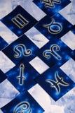 Símbolos del zodiaco Foto de archivo