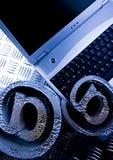 Símbolos do caderno & do Internet Imagens de Stock Royalty Free