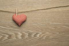Símbolos do dia de Valentim imagens de stock royalty free