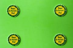 Símbolos do dia do St Patrick fotografia de stock royalty free