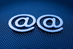 Símbolos do email Imagens de Stock Royalty Free