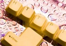 Símbolos do Internet fotografia de stock royalty free