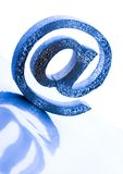 Símbolos do Internet Foto de Stock